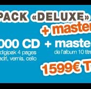 Promos pressage Digi + mastering