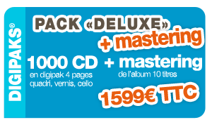 Pack Deluxe +mastering