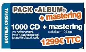 Pack Album JB + mastering