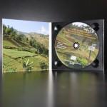 Digipak CD 2 volets sans livret  (ouvert)