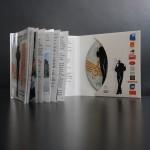 Digifile CD avec livret collé sur le rabat gauche ouvert