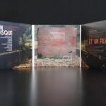 Digisleeve 3 volets avec 2 CD et livret au centre (ouvert)