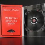 Livre DVD avec livret 96 p. collé sur le rabat gauche (ouvert)